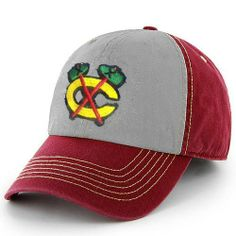 45a7577f5 Chicago Blackhawks Red Yosamite Clean Up Cap by 47 Brand  47 Brand.  17.95