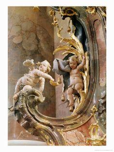 The details is not the details, tey make divine, beautiful design Cherubs 1737-66