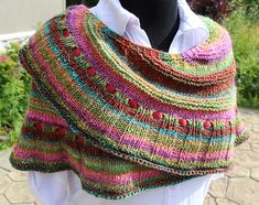 Ravelry: Simple Pleasures Crescent Shawl pattern by Kim Abts