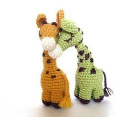 Dreamy Giraffes amigurumi crochet pattern by Irene Strange