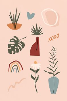 Get this awesome hipster items and plants sticker set as well as more free and premium royalty-free vectors, stock photos, PSD, mockups, and illustrations at rawpixel.com Plant Illustration, Graphic Design Illustration, Digital Illustration, Woman Illustration, Pattern Illustration, Afrique Art, Wow Art, Abstract Shapes, Free Illustrations