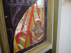Gerald Saul: Installing Art Shack with Heather Cline