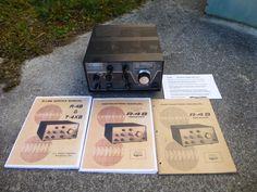 Drake R-4B Ham Radio Communications Receiver w/ Manuals Amateur Estate Unit #Drake