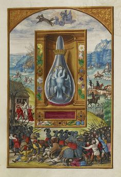 Splendor Solis, a German alchemical treatise, 1582. Image: The British Library