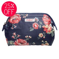 Travel Accessories | Kentish Rose Travel Pouch | CathKidston