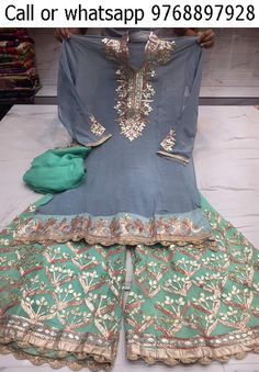 Pakistani Wedding Outfits, Pakistani Bridal Wear, Pakistani Dresses, Indian Dresses, Indian Outfits, Punjabi Fashion, Indian Fashion, Indian Attire, Indian Wear