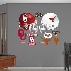Texas Longhorns - Oklahoma Sooners Rivalry Pack Two schools I love