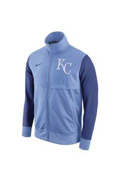 Nike KC Royals Mens Blue  Track Jacket