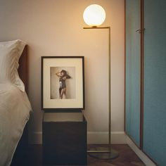 IC Lights by Michael Anastassiades for Flos #light #floorlamp #design #flos #anastassiades