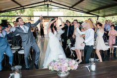 Totally Darling Dusty Pink & Violet Wedding at the Red Ivory Lodge {Lightburst Photography}