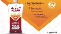 Accell Clean Power PRO - Polishop - Limpador concentrado multiuso