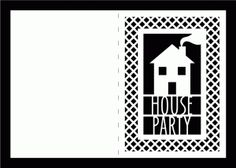 House Party Card by Bird