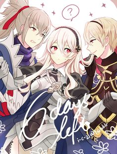 Fire Emblem: If/Fates - Takumi, Kamui and Leon