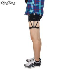 Men's Suspenders Supply 1 Pair Elastic Solid Nisex Shirt Fixed Braces Band Suspenders Adjustable Garter Socks Non-slip Garter Clip Leg Ring Clip Belt Men's Accessories