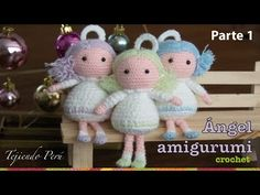 Amigurumi Angel - Weaving Peru ...Video. ༺✿Teresa Restegui http://www.pinterest.com/teretegui/✿༻