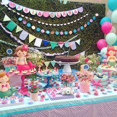 Festa Sereias - decoração mini mimo festas - www.minimimofestas.com.br