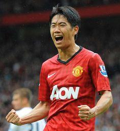 shinji kagawa Manchester United