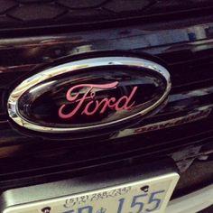 New Pink Ford Emblem  E  A