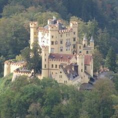 Hohenswangau, near the town of Fussen, Germany.  This castle is next door to Neuswanstein.