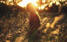 day-field-girl-sun-wallpaper