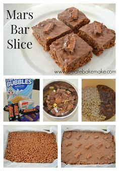 Mars Bar Slice | Create Bake Make
