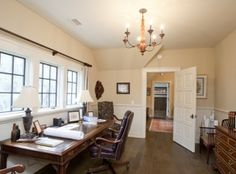 An ideal space to work or study beneath the windows at 106 Raynor Lane in #Kiawah Island's Cassique community (available for sale as of 05.26.16) #LuxuryRealEstate
