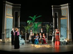 Check out the stunning set for J. M Barrie's The Admirable Crichton at PFT!