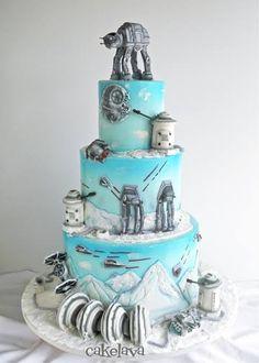 Star Wars Cake by Cakelava