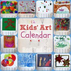Kids' Art Calendar: