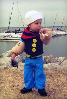 Popeye The Sailor Costume   Costumepedia.com