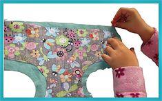 Brauchen Deine Puppen und Kuscheltiere dringend Windeln, die man waschen kann?  Noi und ihrem Freund Jonas (beide 5 Jahre alt) ging ...