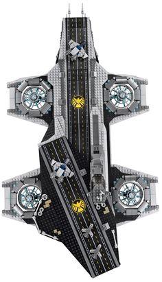 Hellicarrier de LEGO !!  -Shut UP and take my money !