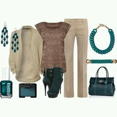 Casual Teal