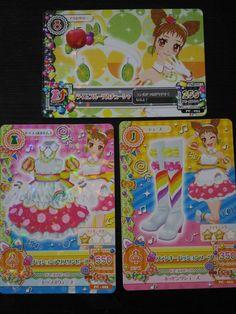 "Trading card of Japanese Idol Animation ""AIKATSU"" Passion Alice coordinate"