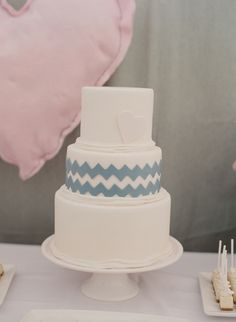 another chevron cake