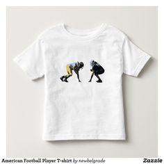 American Football Player T-shirt