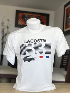 Mens Polo T Shirts, Lacoste Polo Shirts, Mens Tees, Camisa Nike, Shirt Label, Puma, Cool Shirts, Printed Shirts, Shirt Designs