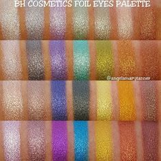 BH COSMETICS FOIL EYES 28 COLOR EYESHADOW PALETTE ($12)