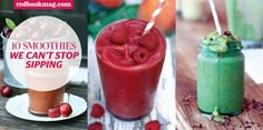 10 Smoothies We Can't Stop Sipping