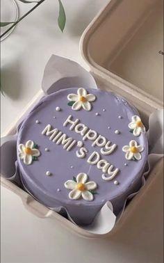 Pretty Birthday Cakes, Pretty Cakes, Beautiful Cakes, Amazing Cakes, Mini Cakes, Cupcake Cakes, Owl Cakes, Frog Cakes, Simple Cake Designs
