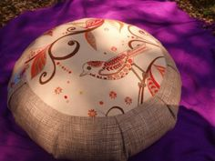 Yoga cushion by Maid in the Woods. From www.fair52.com