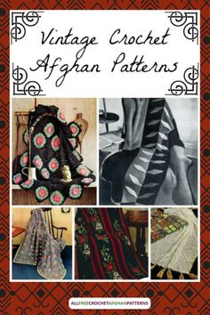 100 Best Vintage Crochet Afghan Patterns Images In 2020 Crochet Afghan Afghan Patterns Vintage Crochet