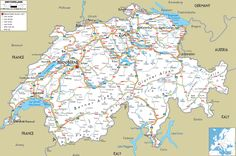 Switzerland. Really cool to look at this... I lived in Arbon (Right on Lake Constance) on the NE border!