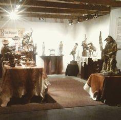 "The term ""a work of art"" is basically defined by @cbergsgaard_short_branch_style's #sculptures. #westernart #calarystampede #bmocenter #craigbergsgaard #craigbergsgaardstudios #stampede2017 #calgary #artist"