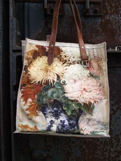 ONE OF A KIND REPRODUCTION PAINTING BAG - CHRYSANTHEMUM After years of…