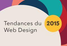 Tendances du web design 2015