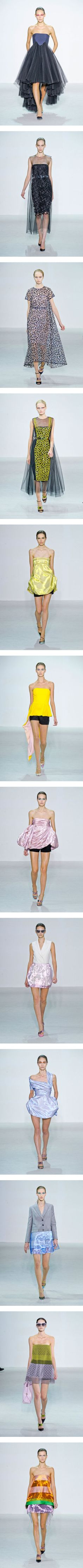"""""""Christian Dior Spring 2013 Paris Fashion Week"""" by polyvore-editorial ❤ liked on Polyvore"""