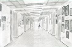 Perspective Hallway by Sharpshot4321.deviantart.com on @deviantART