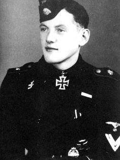"""Wittmann's gunner Balthasar """"Bobby"""" Woll would also be awarded the Knight's Cross in 1944"""