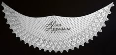 Ravelry: Wild Geese Lace Shawl by Alina Appasova